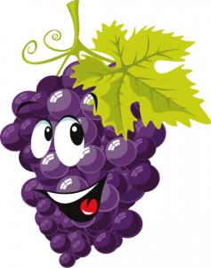 cartoon_Grapes